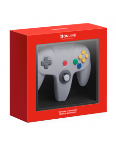 The N64 Controller for the Nintendo Switch in Box