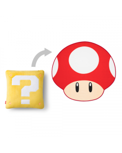 Image displaying mushroom blanket that's hidden in the question block