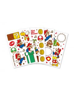 Super Mario Home & Party Wall Decals (Action)