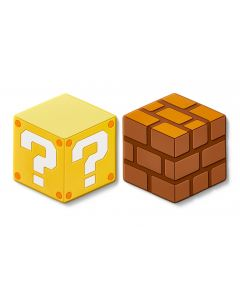 Super Mario Home & Party Silicon Coasters (Question Block/Block)