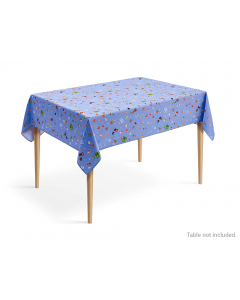 Super Mario Home & Party 8-bit Party Design Tablecloth (Blue)