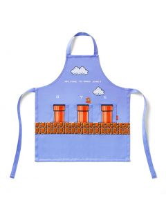 Super Mario Home & Party Kid's Apron (Ground Warp Zone)