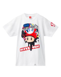 Splatoon 2 - Splatfest Super Mushroom Tee (Pearl) - MEDIUM