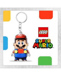 Lego and Nintendo. Super Mario Lego Keychain!