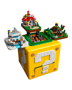 LEGO® Super Mario 64™ Question Mark Block (71395) Showing all worlds