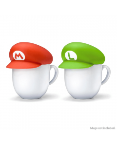 Super Mario Home & Party Mug Covers (Mario/Luigi)