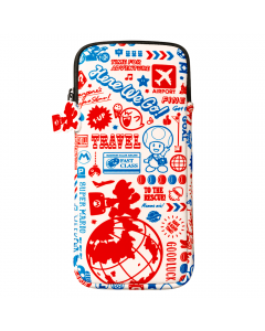 Super Mario Soft Case for Nintendo Switch (Travel Pattern)
