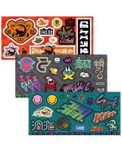 Splatoon 2 Sticker Set