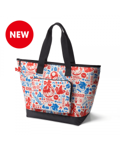 New Super Mario Foldable Tote Bag (Travel Pattern)