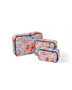 Super Mario Storage Pouch Set (Travel Pattern)