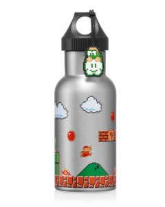 Super Mario Stainless Steel Bottle (Ground Stage)