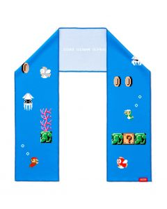 Super Mario Cooling Towel (Underwater Stage)