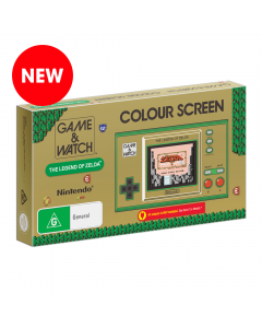 Game & Watch™: The Legend of Zelda™ in its boxed packaging